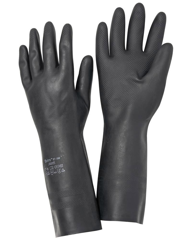 Gants de protection chimique Ansell Extra, cat. III, taille 8, 12 paires - 1