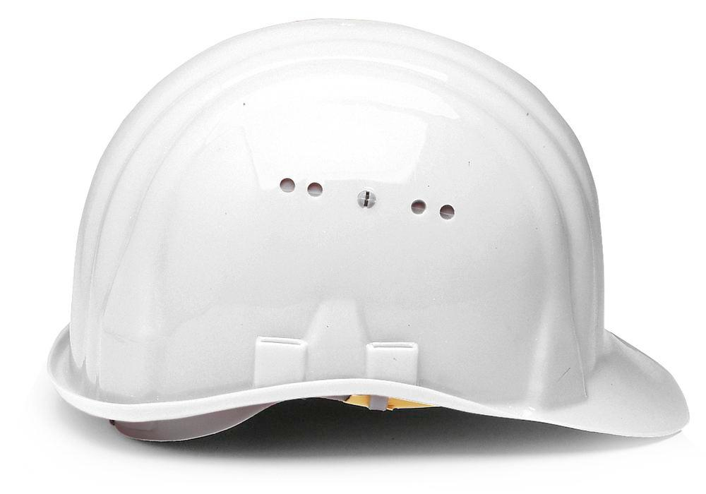 Casque de chantier Schuberth avec coiffe 6 points, conforme DIN-EN 397, blanc - 2