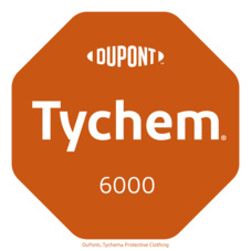 Combinaison risques chimiques Tychem F, CE / EPI cat. III, type 3, 4, 5, 6, taille M, gris_certificate - 3