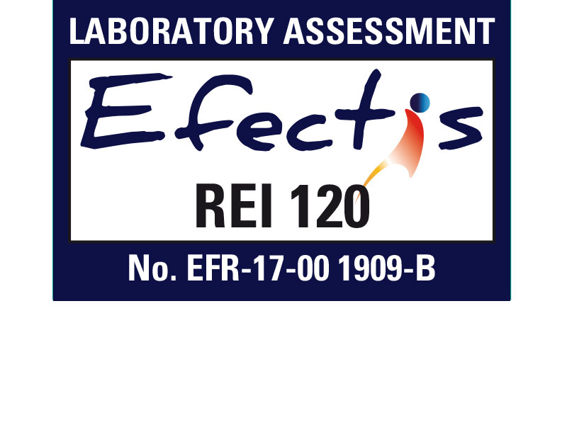 Efectis - classification REI 120