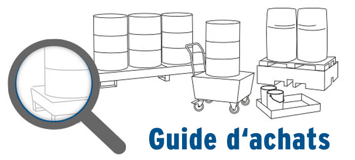 Guide d'achats - Bac de rétention
